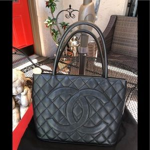 Chanel Vintage Medallion Tote